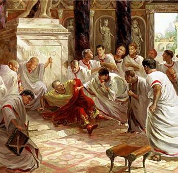 Когда был убит юлий цезарь