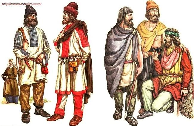 Жители древнерусского государства доклад 5531