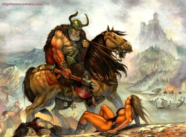 Скандинавия в раннее средневековье. Походы викингов Скандинавы Викинги