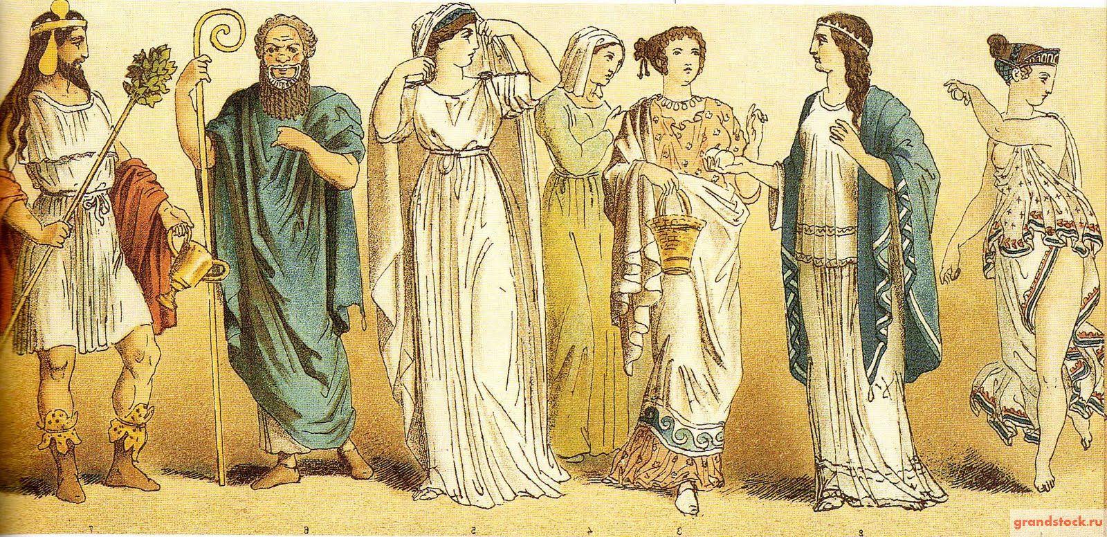 Костюм Древней Греции c55702f165f